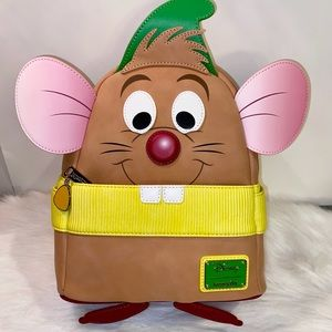 Cinderella Gus Figural Backpack NWT Loungefly